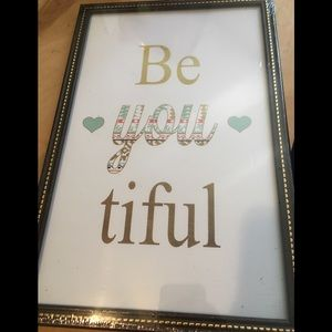 Be *You *Tiful Wall Art
